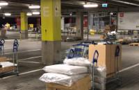 Dobrze zorganizowane odbieranie zamówienia w IKEA