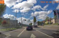Jechał w Gdyni po chodniku