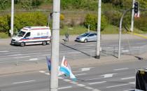 Zderzenie karetki i osobówki w Gdyni