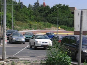 Skrzyżowanie ulic Kartuskiej i Łostowickiej