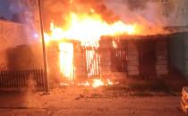 Dwa nocne pożary w Trójmieście