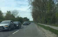 Wypadek na drodze do Sobieszewa