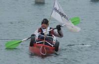 Przepłynął kajakiem po Wiśle ponad 300km