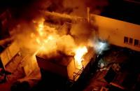Pożar kontenera przy ul. Słowackiego
