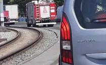 Wypadek na Podwalu Przedmiejskim przy...