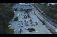 Kino Samochodowe Gdynia Arena z lotu ptaka
