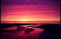 Wschód słońca na plaży w Jelitkowie film poklatkowy