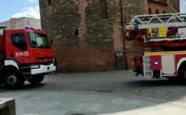 Straż pożarna interweniuje na Stągiewnej w...