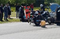 Wypadek pod Polo Marketem w Kosakowie