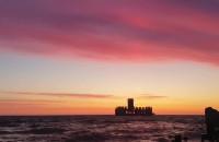 Gdyńska Torpedownia o świcie