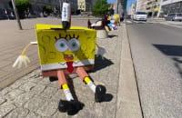 Słupki w Gdyni przebrane na Dzień Dziecka