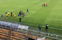 Arka Gdynia - Śląsk Wrocław 2:1. Radość po meczu