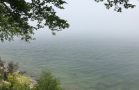 Orłowo w ostrym cieniu mgły !