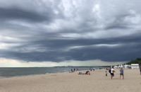 W Sopocie zbiera się na burzę