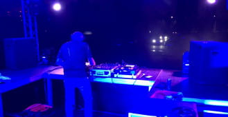 DJ Hazel na Placu Zebrań Ludowych