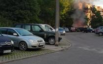Kolejne podpalenie nowej altany na Chełmie