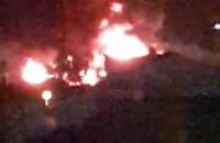 Ogromny pożar we Wrzeszczu