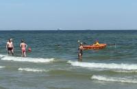 Słoneczna sobota na plaży w Gdyni