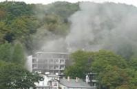 Pożar w Orłowie