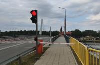 Awaria systemu zwodzenia mostu w Sobieszewie