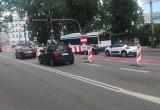 Blokady na ul. Świętojańskiej
