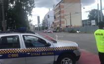 Straż Miejska i blokady na ul....