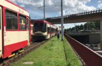 Awaria sieci trakcyjnej w centrum Gdańska