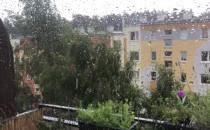 Pada grad i błyska na Przymorzu