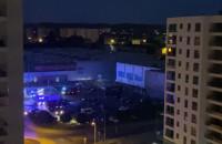 Nocna interwencja strażaków w Galerii Przymorze