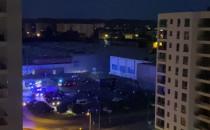 Nocna interwencja strażaków w Galerii...