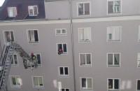 Straż pożarna na ul. Igielnickiej
