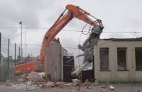 Wyburzają budynek na Matarni w Gdańsku