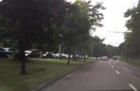 Duży korek na wjeździe do Sopotu od strony Gdyni