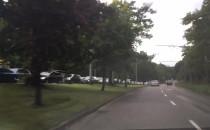 Duży korek na wjeździe do Sopotu od strony...