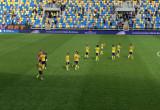 Arka Gdynia - ŁKS Łódź 3:2. Podziękowanie po meczu