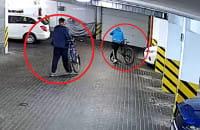 Kradzież rowerów przy Beniowskiego w Gdyni