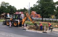 Remont asfaltu i zwężenie na ul. Legionów 50