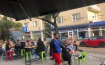 Spokojna impreza na Starowiejskiej w Gdyni