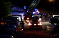 Interwencja strażaków na ul. Jeleniogórskiej