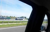 Korek na trasie S7 w kierunku Gdańska