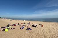 Plaża nie tylko do opalania. Medytacja w Brzeźnie