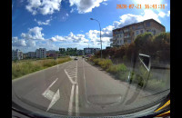 Wymuszenie pierwszeństwa na skrzyżowaniu