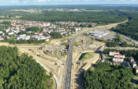 Postęp prac na budowie Trasy Kaszubskiej