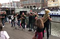 Orkiestra dęta na Wyspie Spichrzów