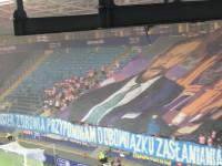 Cracovia - oprawa na finał Pucharu Polski