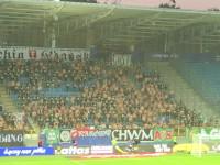 Lechia Gdańsk. Kibice bez koszul