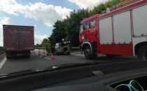 Wypadek na obwodnicy przed bramkami na A1