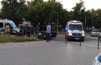 Ulica Piastowska. Sprawca wypadku zbiegł z miejsca zdarzenia