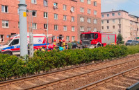 Motocyklista wpadł w samochód na Kartuskiej