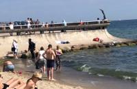 Plaża w okolicy Polanki Redłowskiej